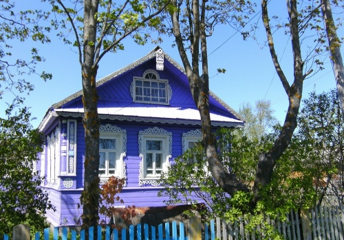 Visit to a Russian dacha