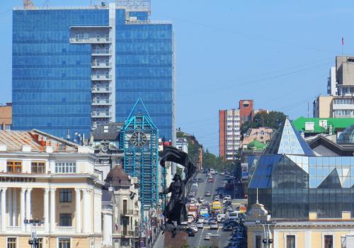 Vladivostok Central square